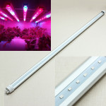 24W T8 0.9M Red And Blue LED Grow Tube Greenhouse Plant Fill Light Gardening