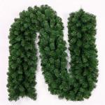2,7 Grön Cane Julgran Garland Trädgård Dekorativa Rattan Trädgårdsredskap