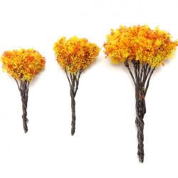 2PCS DIY Landscape Wire Maple Tree Potted Plant Garden Decor