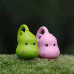 2pcs Mini Sprouts Couples Micro Landscape Garden DIY Ornament