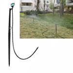 360 ° Rotation Typ Insatt Atomisering Micro Sprinkler Set Trädgårdsredskap