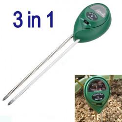 3 in1 Anlage blüht Boden pH Tester Feuchtigkeit Lichtmesser