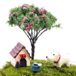 3pcs Various Mini Cute Animal Micro Landscape Garden DIY Decor Gardening