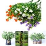 5 Kunstig Eucalyptus Plast Blomst Hjem Kontor Party Decor Haveredskaber
