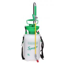 5L Gartenhanddruck Rückenspritze Gießkanne Sprayer Pump