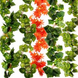 5x Artificial Ivy Flower Leaf Garland Home Garden Decoration