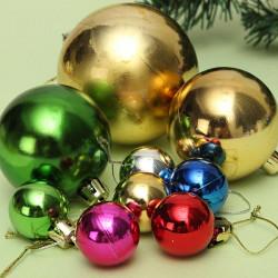 6pcs Xmas Tree Decoration Christmas Balls Hanging Ornament