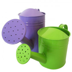 8 colors Candy Color Metal Watering Can Garden Sprayer