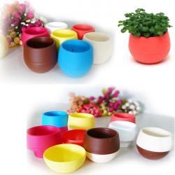 9 Farben PP Kunststoff Harz grüne Pflanze Blumentopf