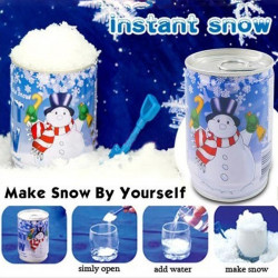 Künstliche sofortiger Schnee Weihnachtsdekoration DIY Schnee