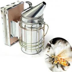 Bee Smoker Galvanized Sheet With Heat Shield Beekeeping Equipment
