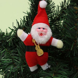 Christmas Tree Decoration Mini Santa Claus Hanging Ornament Toy