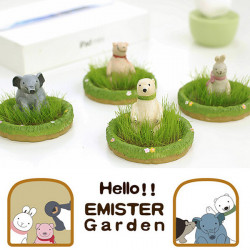 Creative Zoo Animals Potted Plant Mini Office Desktop Home Plant Decor