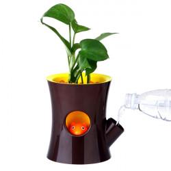 Nette kreative Squirrel Blumentopf Desktop Bonsai umweltfreundlichen Plastik