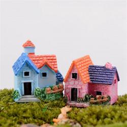 DIY Fertigkeit Landschaft Puppenhaus Topfpflanze Garten Decor