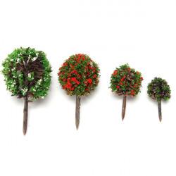 Bunte DIY Landschaft Blume, Baum, Topfpflanze Garten Decor