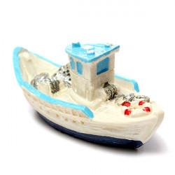 DIY Landschaft Mini Yacht Schiff Ornaments Topfpflanze Garten Decor