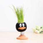 DIY Magie Puppen Kopf Grass Topfpflanze Desktop Office Decor Gartengeräte
