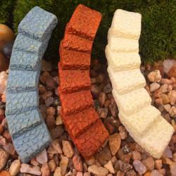 DIY Miniatur Brücke Treppen Ornaments Topfpflanze Garten Decor