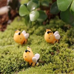 DIY Miniatur Nette Biene Ornamente Topfpflanze Garten Decor