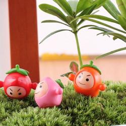 DIY Miniatur Obst Puppe Ornamente Topfpflanze Garten Decor
