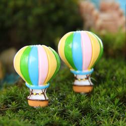DIY Miniatur Heißluft Ballone Ornaments Topfpflanze Garten Decor