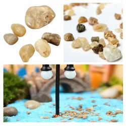 DIY Miniatur Landschaftsbau Stone Ornaments Topfpflanze Decor Garden