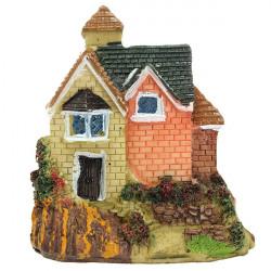 DIY Miniature Villa Craft Ornament Krukväxt Trädgård Decor