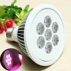 E28 7W Strahler LED Pflanzenwuchslicht Pflanze fördern Lampe Wachsende