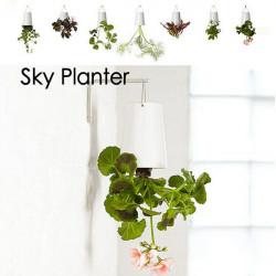 Home Garden Decor Sky Planter Hanging Flower Pot Upside Down Plant Pot