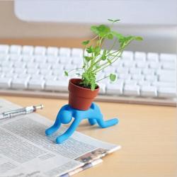 Interesse Mini DIY geändert Iron Man Topfpflanzen Office Home Pflanzen