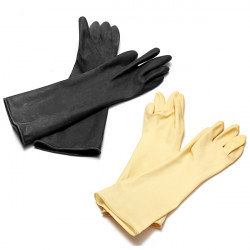 Long Rubber Latex Anti-erode Gloves Acid Alkali Chemical Protective Gloves