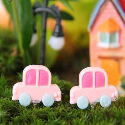 Micro Landschaft Schmuck Mini Kunststoff Auto Garten DIY Dekor