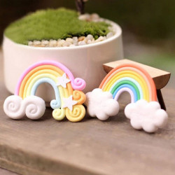 Micro Landskab Dekorationer Mini Rainbow Have Landscaping