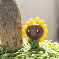 Micro Landschaft Schmuck Mini Harz Sonnenblume Garten DIY Dekor