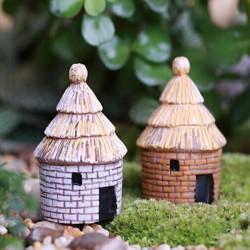 Mikrolandskaps Dekorationer Harts Mimi House Trädgård DIY Inredning