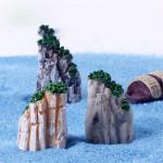 Mikro Liggande Dekorationer Harts Rockery Trädgård DIY Inredning Trädgårdsredskap
