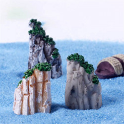 Micro Landscape Decorations Resin Rockery Garden DIY Decor