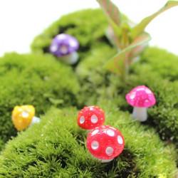 Mini netter Pilz Blumentopf Garten Harz kreative Dekoration
