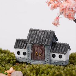 Mini Historic Building Micro Landscape Decorations Garden DIY Decor