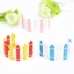 Mini Multicolor Spiel Topf Dekoration Einrichtung Gartenzaun