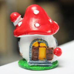 Mini Pilz Haus Micro Landschaft Dekoration Garten DIY Dekor