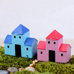 Mini Resin Hjem Micro Landskab Dekorationer Have DIY Decor