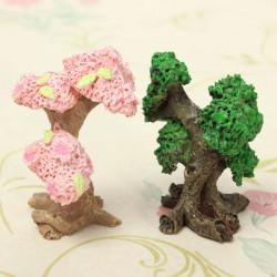 Mini Resin Trees Micro Landscape Decorations Garden DIY Decor