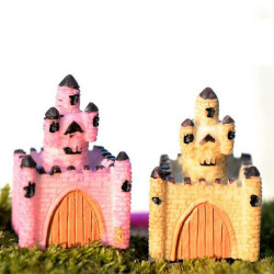 Resin Mini Slot Micro Landskab Dekorationer Have DIY Decor