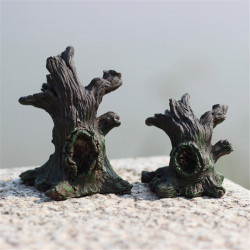 Resin Withered Stumps Micro Landscape Decorations Garden DIY Decor