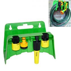 Väggmonterad Rörstället Trädgårdsslang Munstycke Kontakter Förvaring Rack