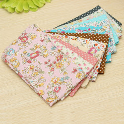 12st Bomull Craft Tyg Vaddera Textil Sömnad Docka Cloth