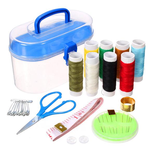 24X DIY Multifunktions Nähzeug Nadel Und Gewinde Werkzeuge Home Nähset Heimtextilien