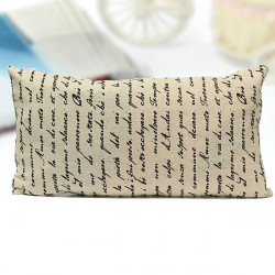 28x50cm French Long Pillow Case Cotton Linen Pillowcase